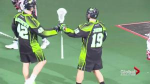 Saskatchewan Rush player additions starting to pay dividends