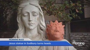 Jesus statue in Sudbury turns heads