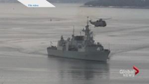 U.S. Navy honours HMCS Toronto