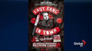 """Aaron Chapman, author of the book """"The Last Gang in Town"""""""