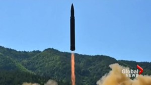 North Korea launches ballistic missile powerful enough to reach U.S.