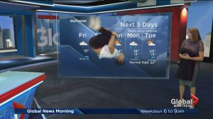 Global News Morning weather forecast: Friday, May 26
