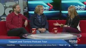 Johnathan Torrens and Jeremy Taggart tour Alberta
