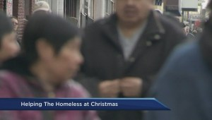 Homeless Partners spread cheer to those in need