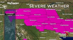 Extreme cold warning issued for Edmonton