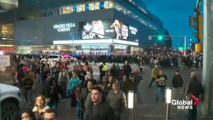 Garth Brooks concert turnaround in downtown Edmonton