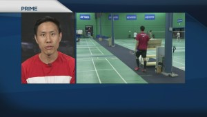Badminton players keep Olympic dream alive