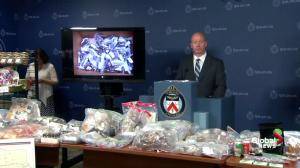 90 arrested, 186 drug charges laid following city-wide crackdown on marijuana dispensaries