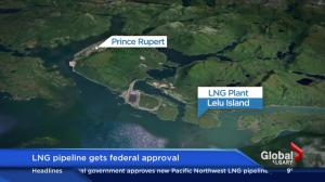 LGN pipeline gets federal approval