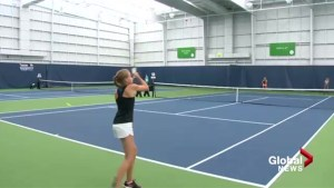 Smashing reviews for new state-of-the-art tennis centre in Calgary