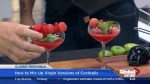 How to mix classic mocktails