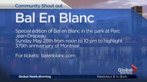 Community Events:  Bal En Blanc