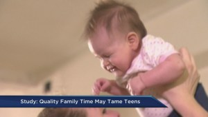 Quality family time may tame kids: study
