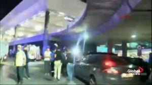 Multiple people injured after 2 explosions rock Turkey's Ataturk airport