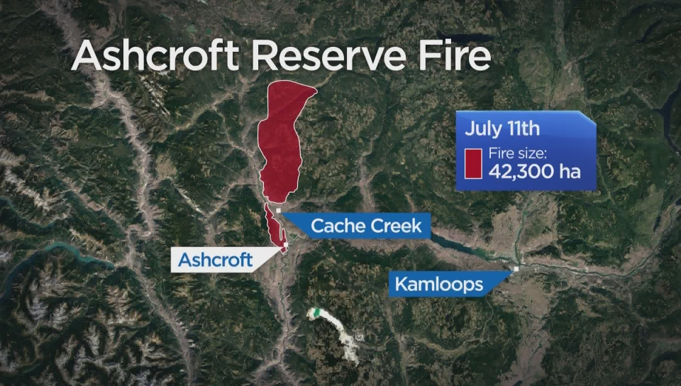 BC wildfires by the numbers