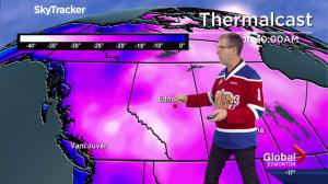 Edmonton Weather Forecast: Jan. 1