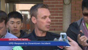 Police investigate bizarre incident at downtown Vancouver Wind Mobile store