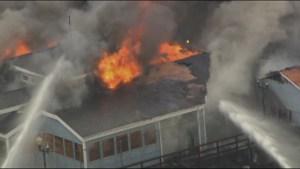 Fire tears through abandoned restaurant on Seal Beach pier