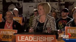 Prentice targets NDP's stance on pipelines