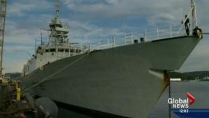HMCS Calgary celebrates 20-years at sea
