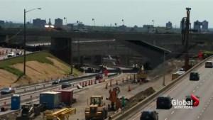 St. Jacques Bridge demolition to limit access to Decarie