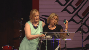"""Elizabeth May says Omar Khadr has """"more class than whole f—king cabinet"""""""