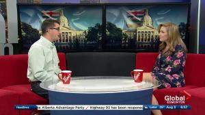 United Conservative Party interm leader Nathan Cooper launches tour