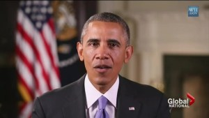 Obama urges Americans to not panic over Ebola