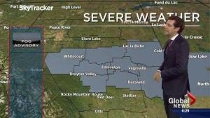 Edmonton Weather Forecast: Oct. 25