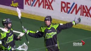 Rookie Saskatchewan Rush defender turning heads with pinpoint shooting prowess