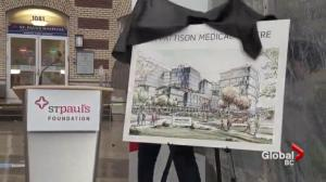 Jim Pattison donates $75M to St. Paul's Hospital