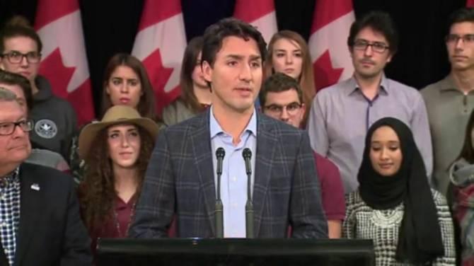 Canadian Prime Minister Sets Up War Room