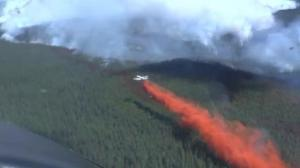 Firefighters battle fires in British Columbia