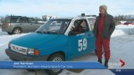 Ice racing allows motorists to test their winter driving skills