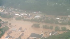 West Virginia battles flash flooding after 10 inches of rain fall in less than 12 hours