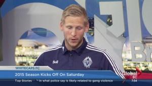 Whitecaps goalie David Ousted talks season start