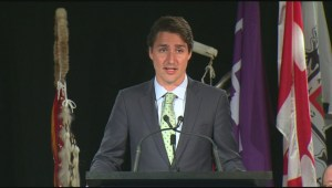 Justin Trudeau reveals First Nations platform