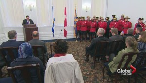 Halifax remembers fallen Mounties