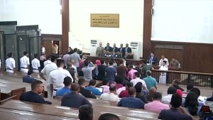 Egyptian court sentences 28 to death over top prosecutor killing