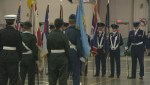 Canadian and American Cadets come together in Lethbridge to remember
