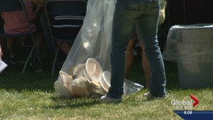 Annual festival generates waste along Saskatoon's riverbank