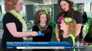Irish dancing in Saskatoon for St. Patrick's Day