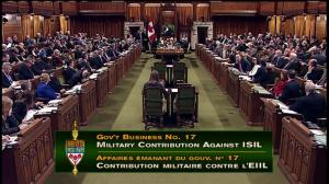 House of Commons votes to extend mission against ISIS