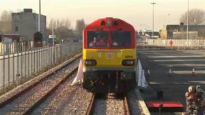 First China-to-UK freight train arrives in London