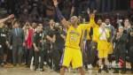 As NBA legend Kobe Bryant says goodbye, new star works