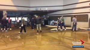 Edmonton's MAC Islamic Centre flooded after water main break