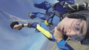 Skydiver saved while having seizure in mid-air