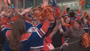 'The Oilers have just scored': Edmonton Oilers score thrilling Game 5 OT winner during Global anchor's live hit