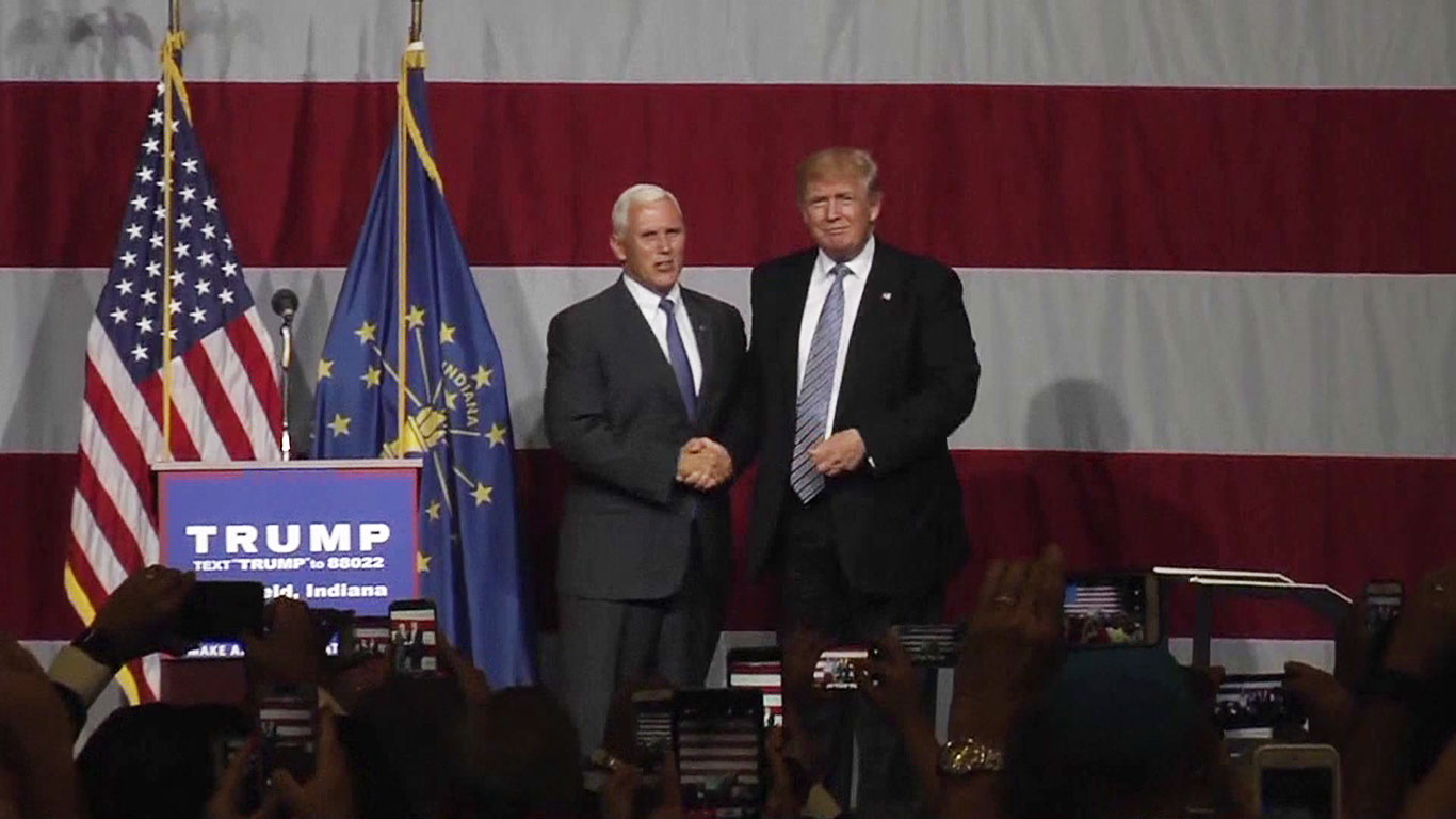 Indiana Governor Meeting With Trump Family as VP Search Narrows