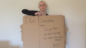 HIV positive pastor creates moving 'cardboard testimony'